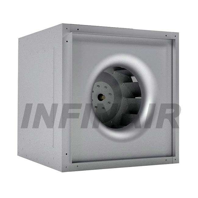 Inline Square Centrifugal Fan - ISQ