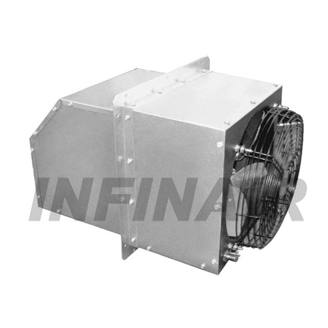 sidewall supply fan